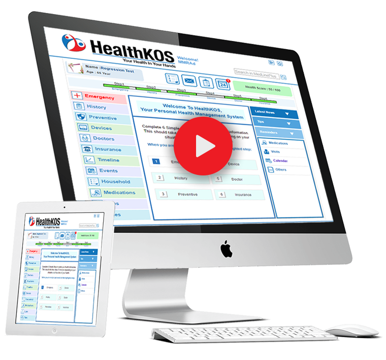 Healthkos Promo Video Banner